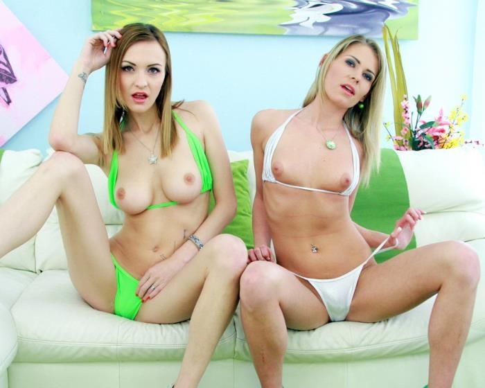 Belle Claire, Claudia Mac - 3on2 double anal mini orgy SZ1763 (LegalPorno) [SD 480p]
