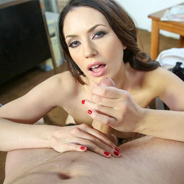 ManoJob: (Sarah Shevon) - Sperm Bank Stroke [FullHD / 1.29 GB]