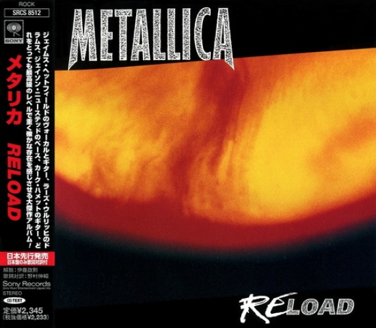 Metallica - Reload (Promo) (Japanese Edition)