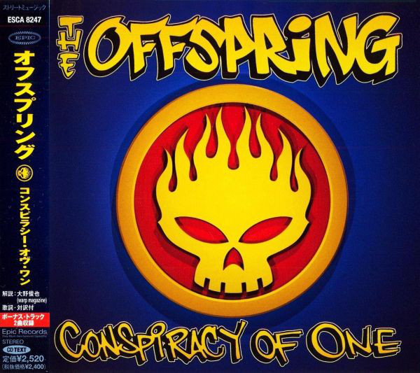 The Offspring  - Conspiracy Of One (Japanese Edition)