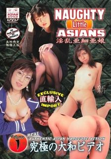 Naughty Little Asians 1  Cover