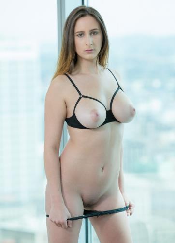 Ashley Adams - Big Tits Brunette Wins Over BBC (HD)