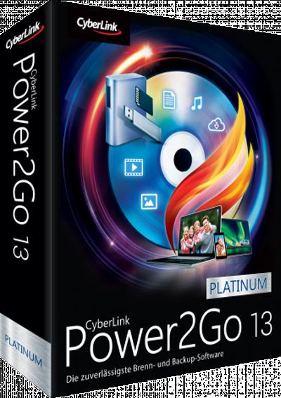 CyberLink Power2Go Platinum v13.0.0718.0