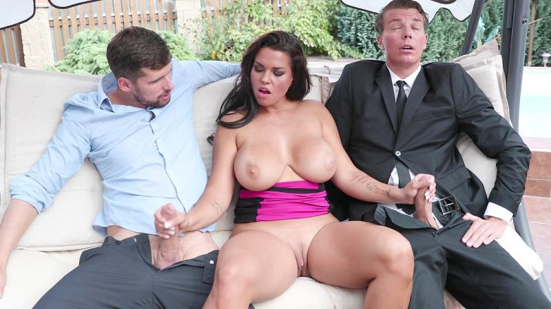 Bang.com.com - Chloe Lamour (Chloe Lamoure) - Chloe Lamoure Has Giant Tits And A Craving For Two Dicks! [FullHD 1080p]