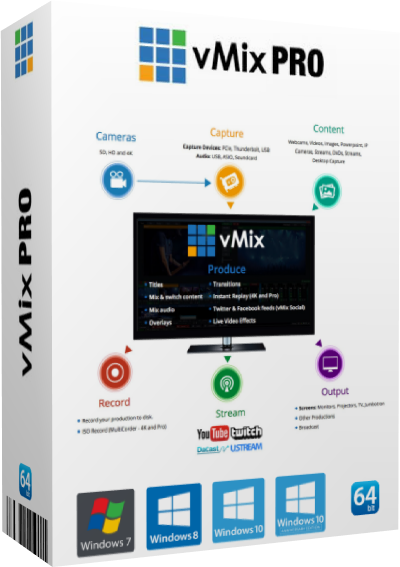 vMix Pro v22.0.0.66 (x64)