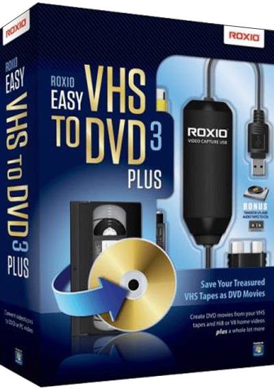 Roxio Easy VHS to DVD 3 Plus v3.0.1.36