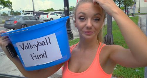 Molly Mae - Molly Mae goes all in for the team on the Bang Bus