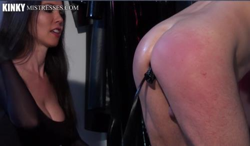 Mistress Susi - The Anal Plug for my Slave (207 MB)