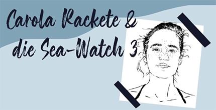 Tagesnews: Carola Rackete und die Sea-Watch 3