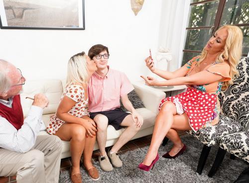 Rharri Rhound, Archie Stone - Family Fucks To Make Him Jealous (3.57 GB)