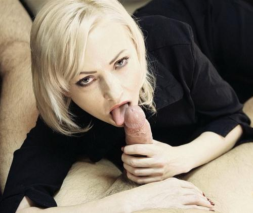 LiLu - Office BlowJob with Cum inside my mouth and Swallow (HD)