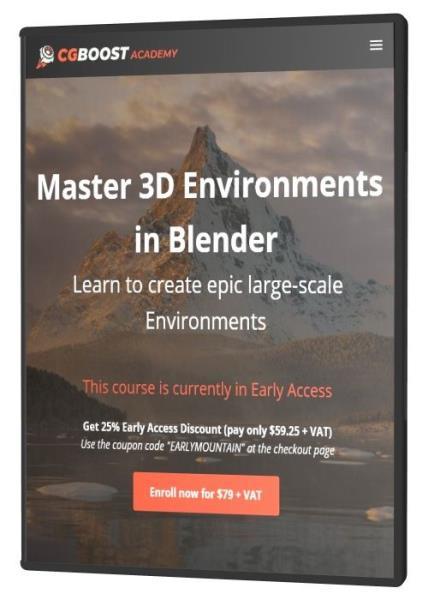 Master 3D Environments in Blender (2021) HDRip
