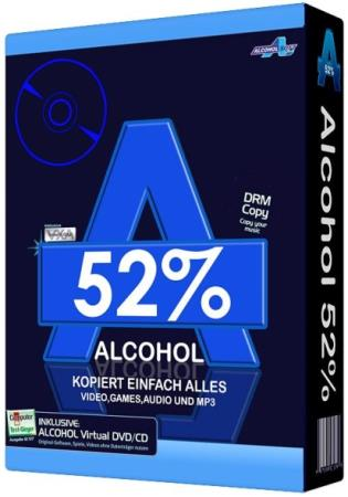 Alcohol 52% 2.1.1 Build 422 Free Edition Final